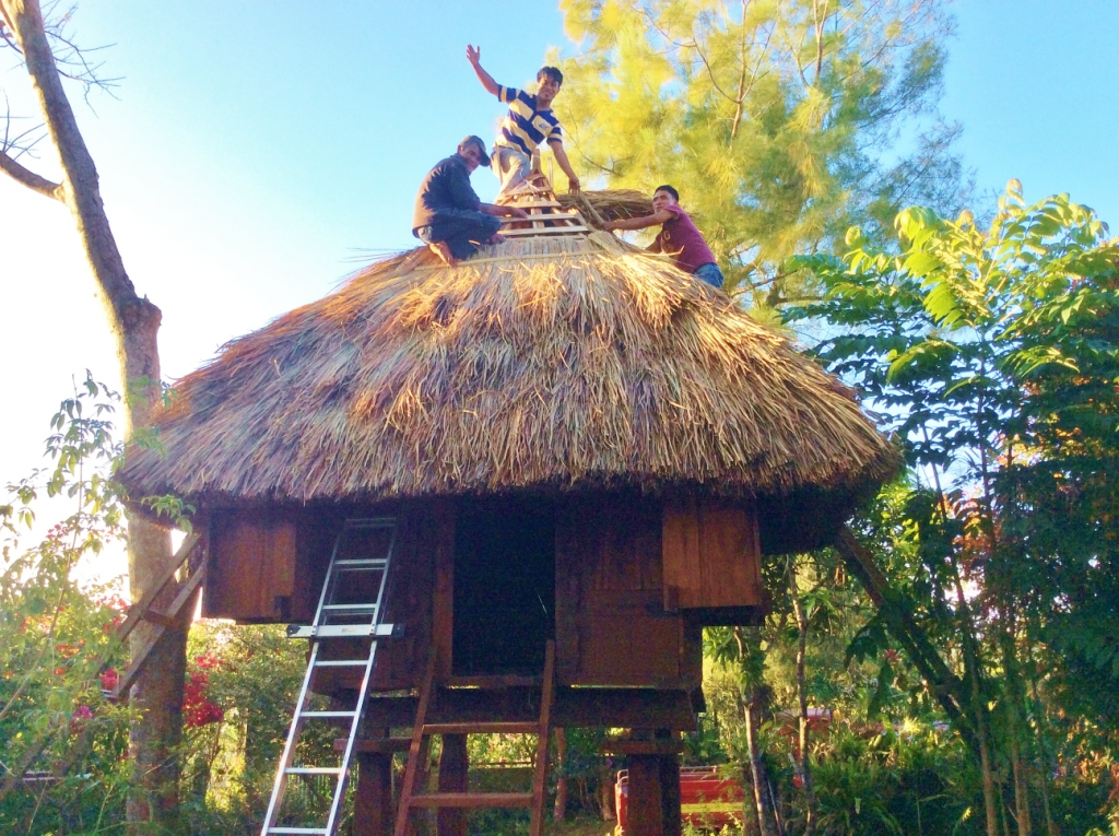 how to build ifugao house